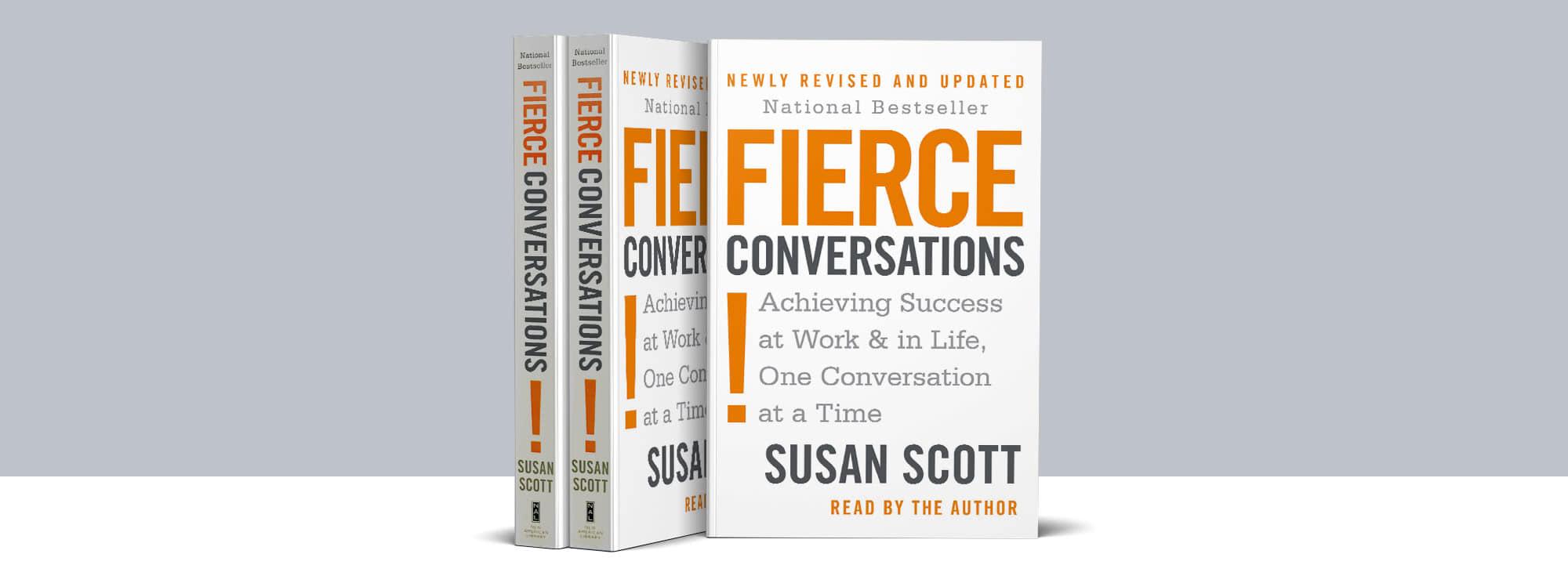 Fierce Conversations Book Susan Scott Updated Revised