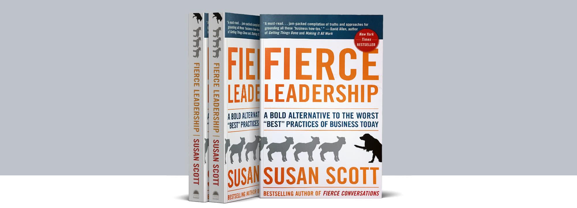 Fierce Conversations  Book Fierce Leadership Susan Scott