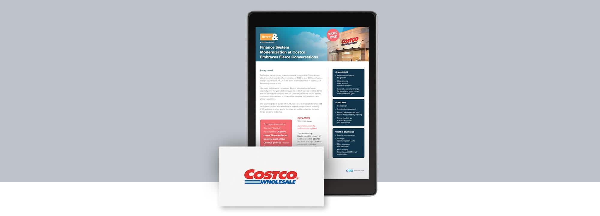 Fierce Conversations Costco Case Study