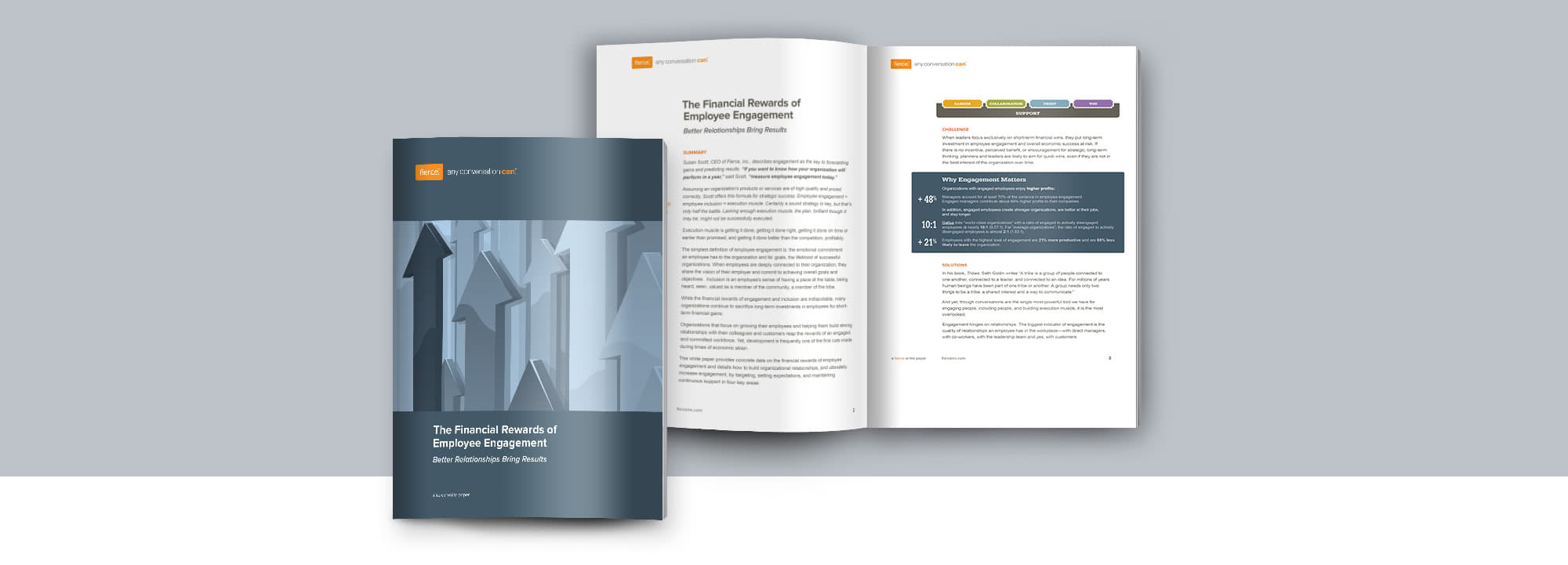 Fierce Conversations Whitepaper The Financial Rewards of Employee Engagement