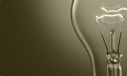 Fierce Ideas (cream lightbulb)