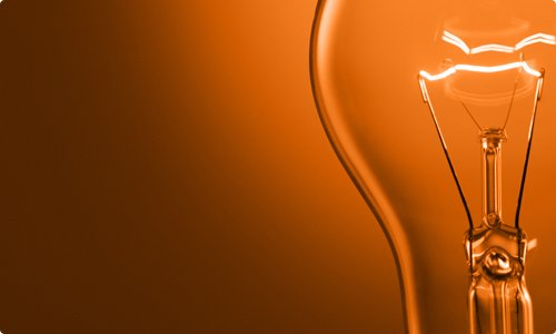 Fierce Ideas (orange lightbulb)