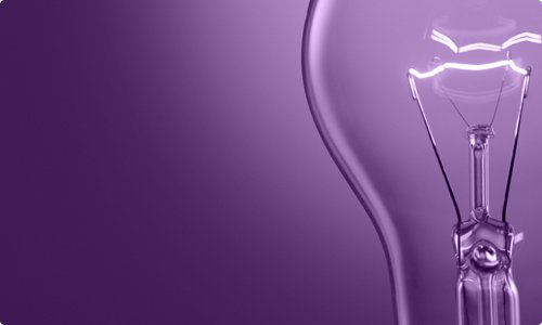 Fierce Ideas (purple lightbulb)