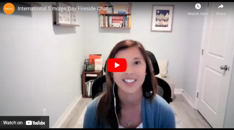 International S'mores Day Fireside Chat